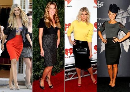 Моде юбок с завышенной талией